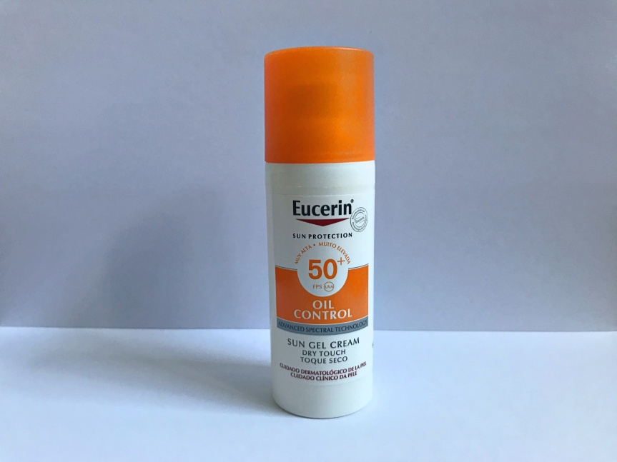 Review: Sun Gel Cream Oil Control Dry Touch 50+ – Eucerin