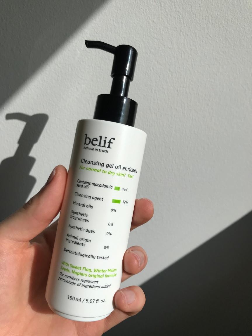 Review: Cleansing Gel Oil Enriched –Belif