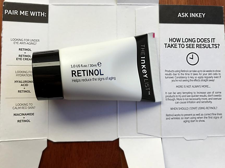 Mi experiencia con el retinol(1)