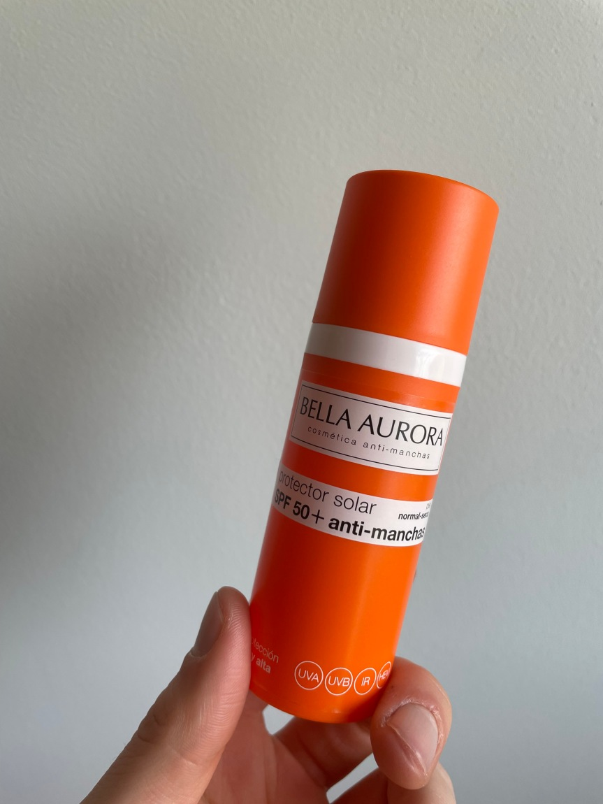 REVIEW: Protector solar SPF 50 antimanchas – BellaAurora